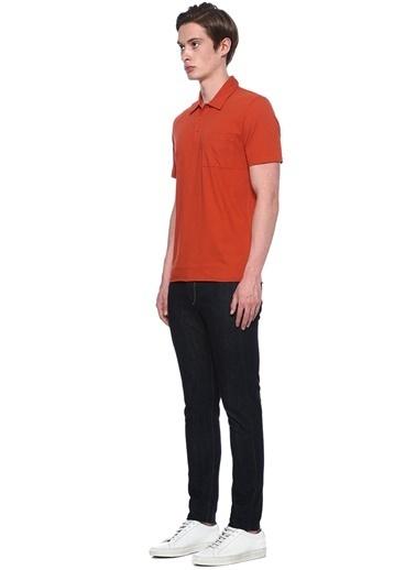 Vince Polo Yaka Tişört Oranj